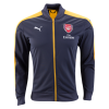 Jaket Bola Arsenal Black 2016-2017