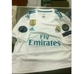 ed0b3810c Jersey Real Madrid Home 2017-2018 Full Patch - Jersey Bola Grade Ori ...