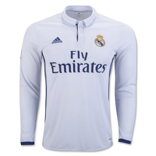Jersey Real Madrid Home Longsleeve 2016-2017