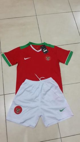 Jersey Timnas Indonesia Home Kids AFF 2016