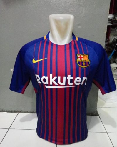 Jersey Bola Barcelona Home 2017-2018 Official