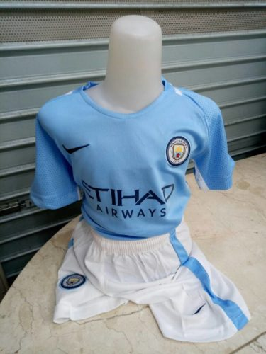 Jersey Manchester City Home Kids 2017-2018