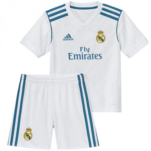 Jersey Real Madrid Home Kids 2017-2018