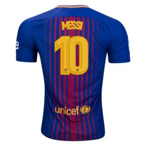 Jersey Barcelona Home 2017-2018 Messi