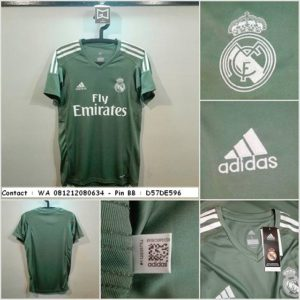 Jersey Bola Real Madrid GK 2017-2018