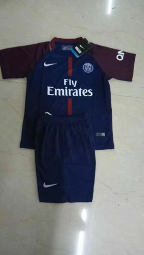 Jersey PSG Home Kids 2017-2018