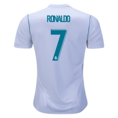 Jersey Real Madrid Home 2017-2018 Ronaldo