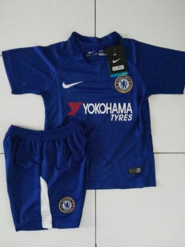 Jersey Chelsea Home Kids 2017-2018
