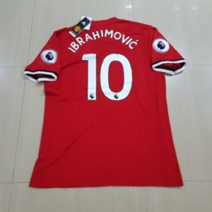 Jersey Manchester United Home 2017-2018 Ibrahimovic