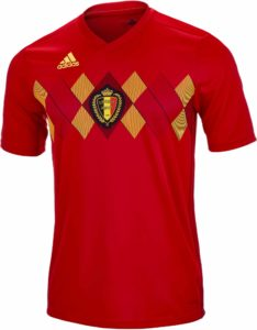 Jersey Belgia Home World Cup 2018