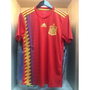 Jersey Spanyol Home World Cup 2018