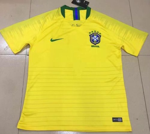Jersey Brazil Home World Cup 2018