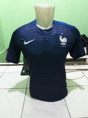 Jersey Prancis Home World Cup 2018