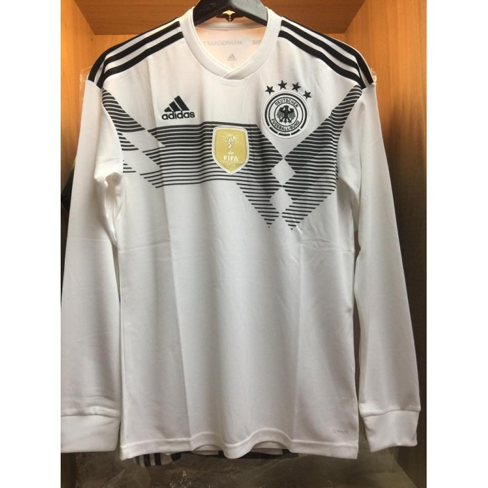 c69d56825 Jersey Jerman Home Long Sleeve World Cup 2018 - Jersey Bola Grade ...
